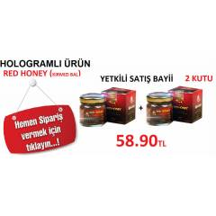 2AD Red Honey Macun (K�rm�z� Bal)HOLOGRAMLI �R�N
