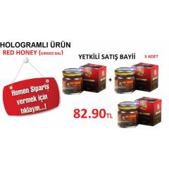 3AD Red Honey Macun (K�rm�z� Bal)HOLOGRAMLI �R�N