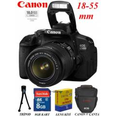 Canon EOS 650d SLR Foto�raf Makinas� 18-55mm IS