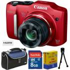 Canon SX160IS 16MP HD Dijital Foto�raf Makinas�