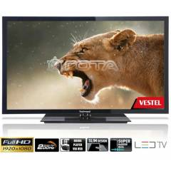 "Vestel Techwood 24""(61cm) Dahili DVD'li LED TV"