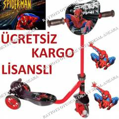 SCOOTER FRENL� SP�DERMAN �R�MCEK ADAM 3 TEKERL�
