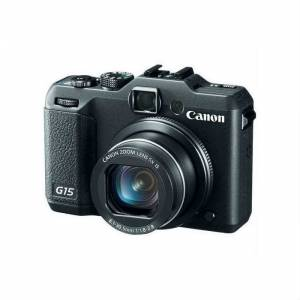 CANON POWERSHOT G15 12.1 MP DIGITAL CAMERA+CASE