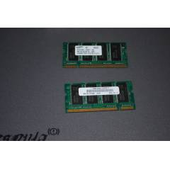 SAMSUNG PC2700S 256MB X 2 ADET DDR MEMORY