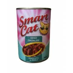 Smart Cat Deniz �r�nleri Kedi Konservesi 400 gr