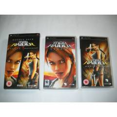 "PSP UMD Oyun - ""TOMB RAIDER DOUBLE PACK"""