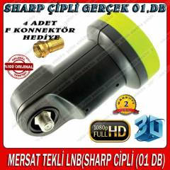 (SHARP C�PL� 01 DB) MERSAT TEKL� LNB 2 GOLD F