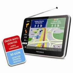Piranha Avatar 5.0 inch Gps + Tv + Bluetooth FM