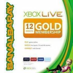 XBOX LIVE 12 AYLIK GOLD �YEL�K UK - US - EU