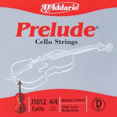 J101244M DADDARIO Cello Tek Tel Prelude D-Re (44
