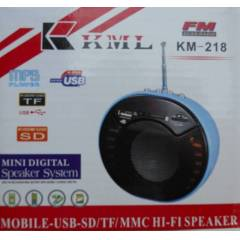 KML AM/FM RADYO VE USB/MMC/SD MP3  OKUYUCU