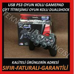 PLAYSTATION 3 T�TRE��ML� OYUN KOLU USB GAMEPAD