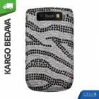 BlackBerry Torch 9800 Ta�l� K�l�f A��k Zebra