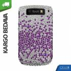 BlackBerry Torch 9800 Ta�l� K�l�f Kademeli Mor