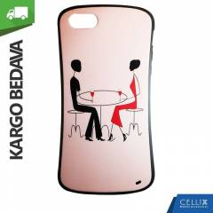 iPhone 5/5S K�l�f Pink Man And Woman Kargo �.