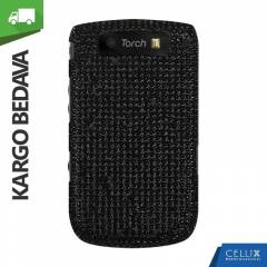 BlackBerry Torch 9800 Ta�l� K�l�f Siyah