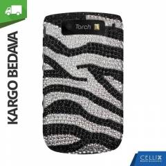 BlackBerry Torch 9800 Ta�l� K�l�f Zebra