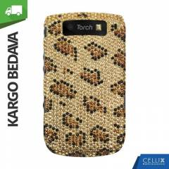 BlackBerry Torch 9800 Ta�l� K�l�f Leopar