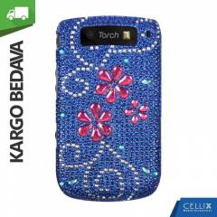 BlackBerry Torch 9800 Ta�l� K�l�f Papatya