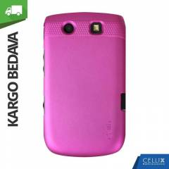 BlackBerry Torch 9800 Hibrid K�l�f Koyu Pembe