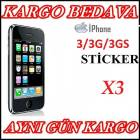iPHONE 3/3G/3GS EKRAN KORUYUCU F�LM