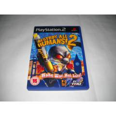 Orijinal PlayStation2 Oyun-DESTROY ALL HUMANS 2