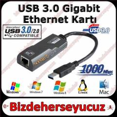 USB 3.0 TO ETHERNET RJ45 LAN G�GAB�T ADAPT�R