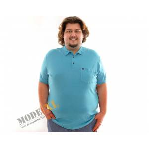 BATTAL-B�Y�K BEDEN POLO T-SHIRT 5125(3XL-8XL)