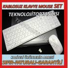 LAPTOP NOTEBOOK SL�M KABLOSUZ KLAVYE MOUSE SET�