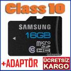 GALAXY NOTE2 16 GB HAFIZA KARTI Class10 +ADAPT�R