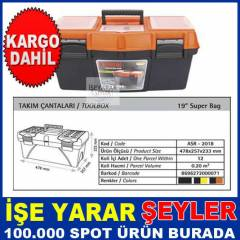 "19"" POWER BAG L�KS TAKIM �ANTASI 48x26x24cm-KD"