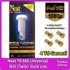 Next YE-666 Universal �kili (Twin) Gold Lnb 01dB