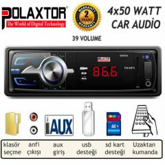 POLAXTOR PLX-3300 OTO USB+SD MP3 PLAYER 4x 50 W
