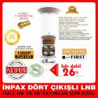 4 L� LNB �NPAX GOLD PERFORMANS LNB S�