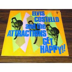 ELV�S COSTELLO & THE ATTRACT�ONS - Get Happy!!