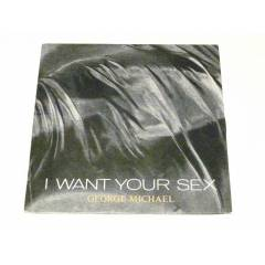 GEORGE MİCHAEL - İ Want Your Sex , 7'' 1987