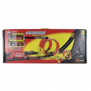 Burago Ferrari Race & Play Dual Loop