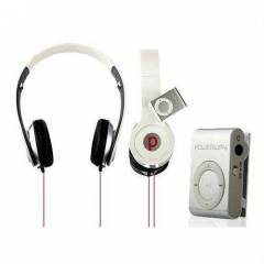 SOLANER MP3 PLAYER + KATLANAB�L�R KULAKLIK