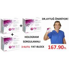 3 Kutu Fat-Block Fatblock HOLOGRAM SORGULAMALI