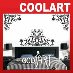 COOLART Duvar Sticker Damask Desen  (st463)