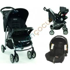 Graco Mirage +Ts Plus Junior Baby Travel Sistem