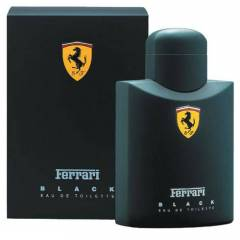 FERRARI BLACK 125 ML EDT BAY ERKEK PARF�M