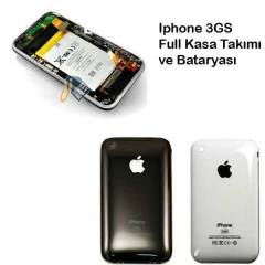 �phone 3gs Full Kasa Tak�m�+Batarya ve Takma Set