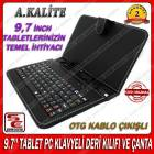 9.7 TABLET PC KLAVYELI DER� KILIF SYROX