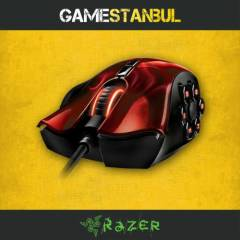 RAZER NAGA HEX KIRMIZI GAMING MOUSE