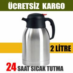 2 L�TRE �EL�K TERMOS 24 SAAT SICAK SO�UK TUTMA