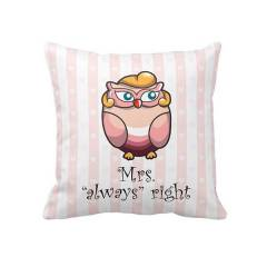 Biggdesign Bayku� Mrs.Right Yast�k K�l�f�