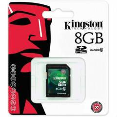 KINGSTON 8GB CLASS 10 SDHC SD10V/8GB HAFIZA KART