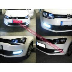 POLO R6 2009-S�S FARI LAMBASI LEDL� FAR LED DRL