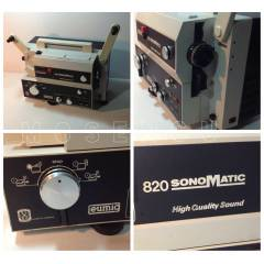 EUMIG 820 SOUND/SESL� 8mm Film/Sinema Makinas�